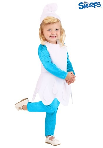 The Smurfs Toddler Girls Smurfette Costume