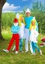 The Smurfs Girls Smurfette Costume Alt 3