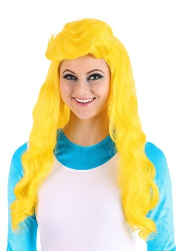 Click Here to buy The Smurfs Smurfette Wig for Women from HalloweenCostumes, CDN Funds & Shipping