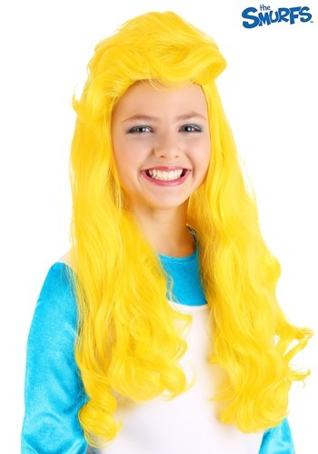 The Smurfs Smurfette Wig for Girls