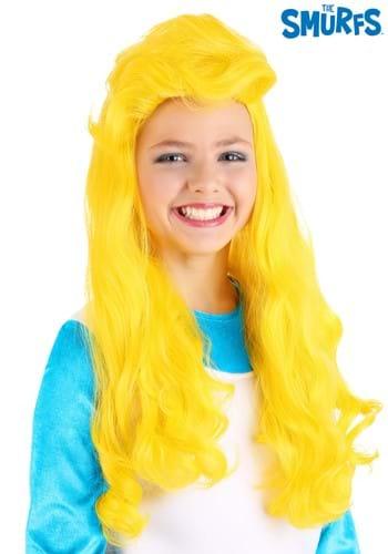 The Smurfs Smurfette Wig for Girls