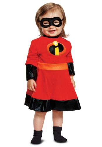 Click Here to buy Baby Incredibles 2 Violet Costume from HalloweenCostumes, CDN Funds & Shipping
