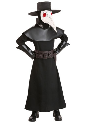 Click Here to buy Kids Plague Doctor Costume from HalloweenCostumes, CDN Funds & Shipping