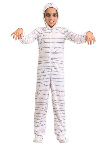 Click Here to buy Cozy Kids Mummy Costume from HalloweenCostumes, CDN Funds & Shipping