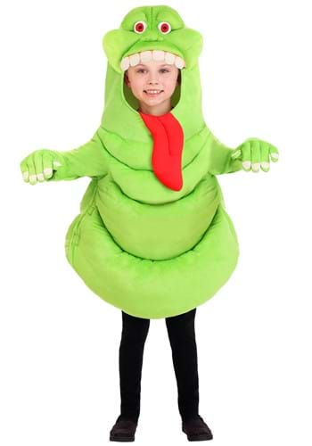Click Here to buy Kids Ghostbusters Slimer Costume Tunic With Gloves from HalloweenCostumes, CDN Funds & Shipping
