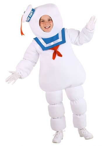 Kids Ghostbusters Stay Puft Costume | HalloweenCostumes.com