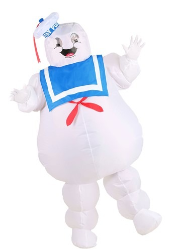 Click Here to buy Ghostbusters Inflatable Stay Puft Costumefor Adults from HalloweenCostumes, CDN Funds & Shipping