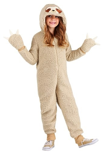 Sloth Onesie Costume for Kids