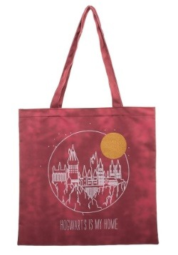 Harry Potter Tote Hogwarts Is My Home Canvas Treat Bag