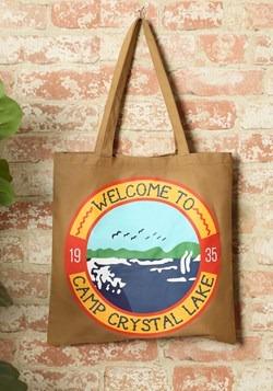 Friday the 13th Camp Crystal Lake Canvas Treat Bag Tote
