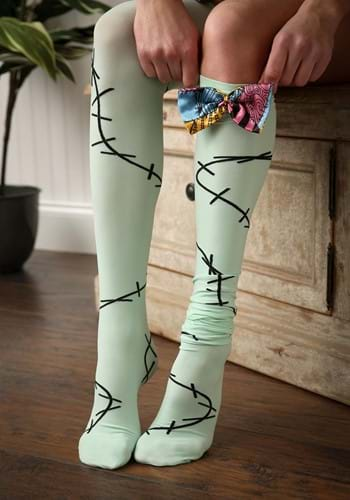 Nightmare Before Christmas Sally Over The Knee Socks For Women