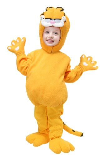 Toddler Garfield Costume