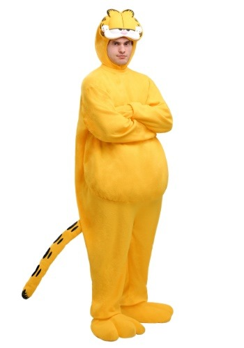 Click Here to buy Adult Garfield Costume from HalloweenCostumes, CDN Funds & Shipping
