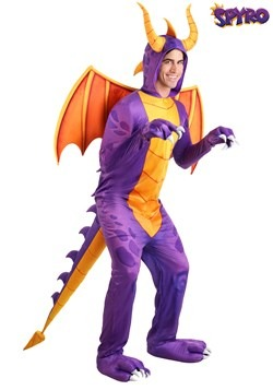 Spyro the Dragon Adult Jumpsuit Costume