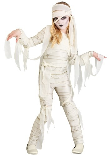Under Wraps Mummy Costume Girl's