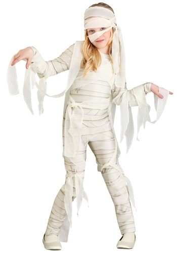 Click Here to buy Under Wraps Girls Mummy Costume from HalloweenCostumes, CDN Funds & Shipping