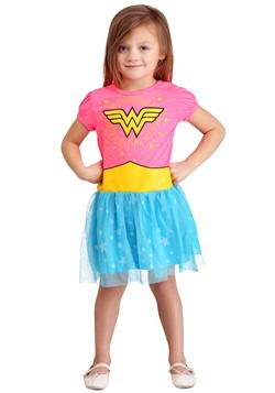 Wonder Woman Girls Costume Dress1
