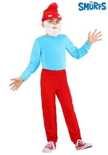 The Smurfs Child Papa Smurf Costume