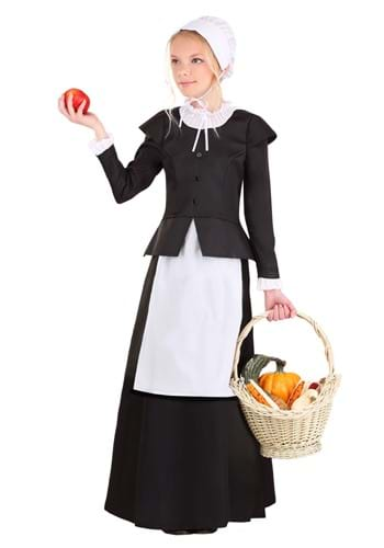 Girl's Thankful Pilgrim Costume