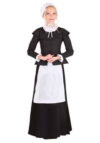Thankful Pilgrim Girls Costume