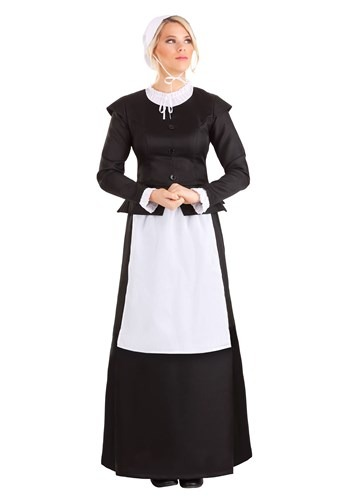 Click Here to buy Thankful Pilgrim Womens Costume from HalloweenCostumes, CDN Funds & Shipping