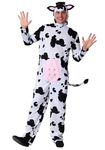 Plus Size Mens Cow Costume