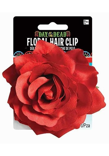 Day of the Dead Rose Hair Accessory