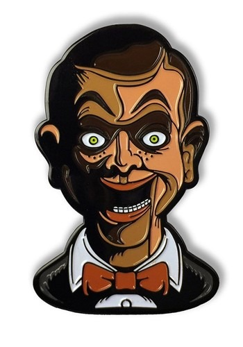 Living Dummy Goosebumps Enamel Pin