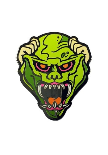Click Here to buy Haunted Mask Goosebumps Enamel Pin from HalloweenCostumes, CDN Funds & Shipping