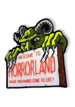 Goosebumps Welcome to Horrorland enamel pin