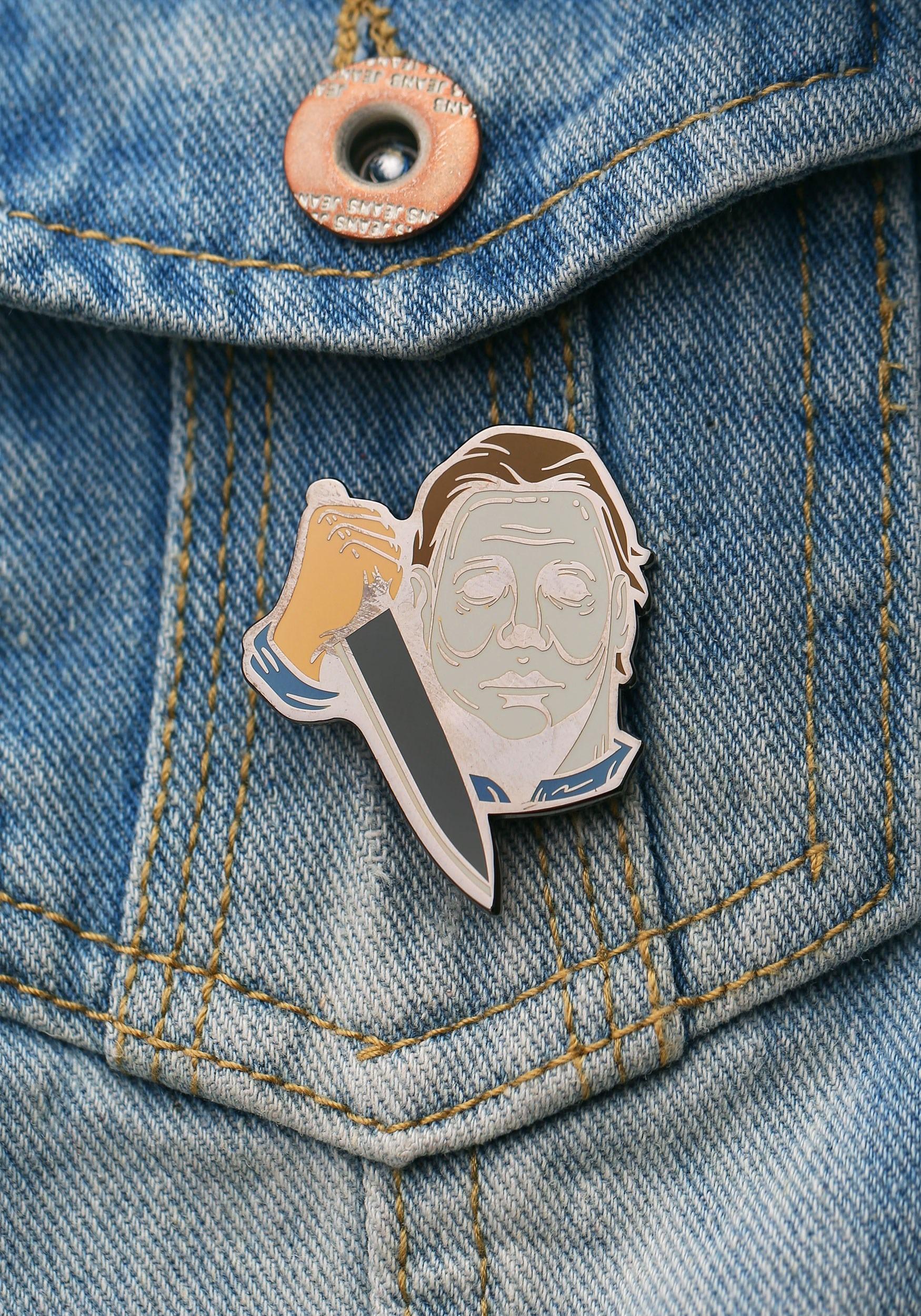 Michael Myers Halloween Enamel Pin