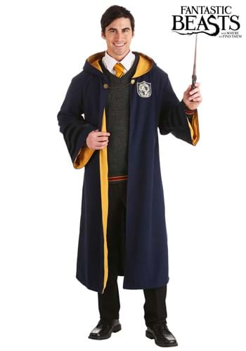 Adults Vintage Harry Potter Hogwarts Hufflepuff Robe
