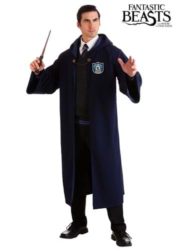 Click Here to buy Vintage Harry Potter Hogwarts Ravenclaw Adults Robe from HalloweenCostumes, CDN Funds & Shipping