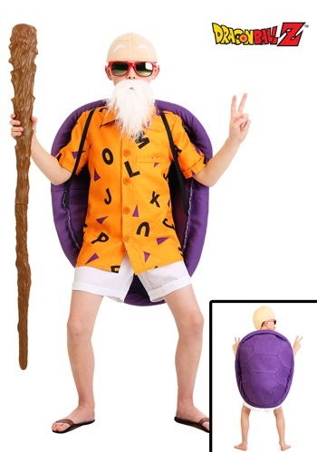 Kids Dragon Ball Z Master Roshi Costume
