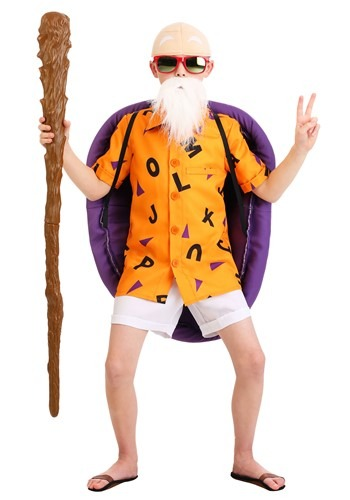 Click Here to buy Dragon Ball Z Master Roshi Kids Costume from HalloweenCostumes, CDN Funds & Shipping