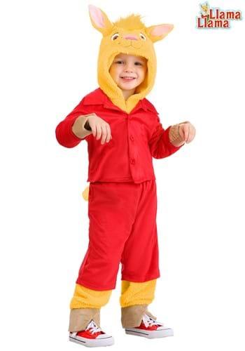 Llama Llama Toddler Red Pajama Costume1