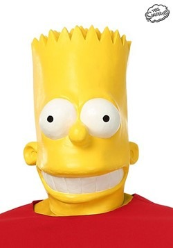 Adult Bart Simpson Mask