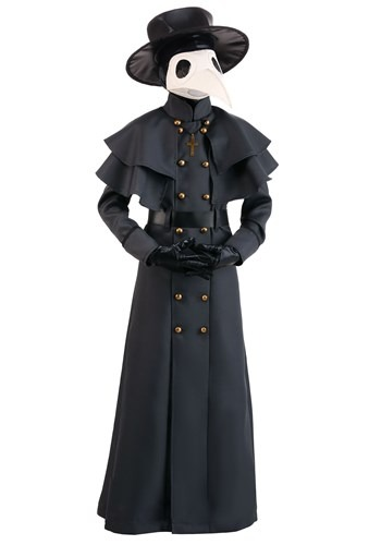 Click Here to buy Classic Plague Doctor Kids Costume from HalloweenCostumes, CDN Funds & Shipping