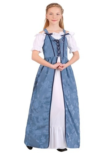 Click Here to buy Renaissance Villager Girls Costume from HalloweenCostumes, CDN Funds & Shipping