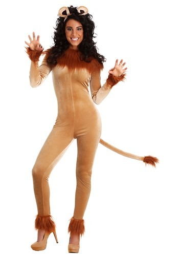 Click Here to buy Womens Fierce Lion Costume from HalloweenCostumes, CDN Funds & Shipping