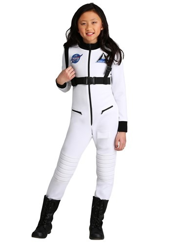 Click Here to buy White Astronaut Girls Costume from HalloweenCostumes, CDN Funds & Shipping