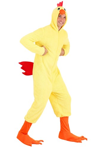 Adult Plus Size Cluckin Chicken Costume