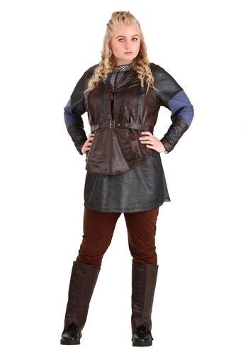 Vikings Plus Size Lagertha Lothbrok Costume for Women