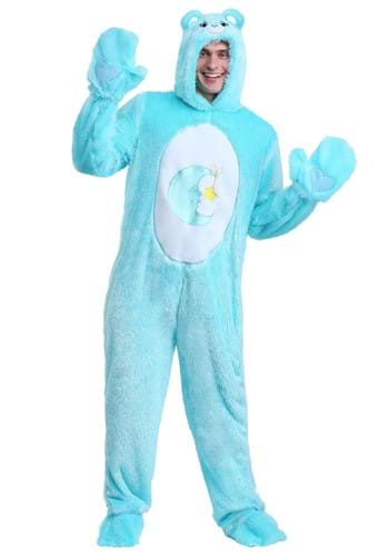Click Here to buy Plus Size Care Bears Classic Bed Time Bear Costume from HalloweenCostumes, CDN Funds & Shipping