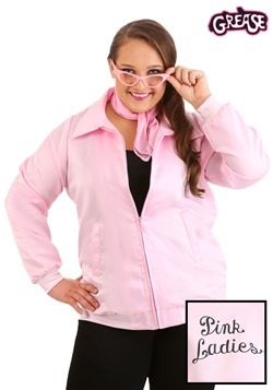 Plus Size Grease Pink Ladies Costume Jacket