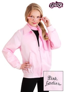 Grease Kids Pink Ladies Costume Jacket