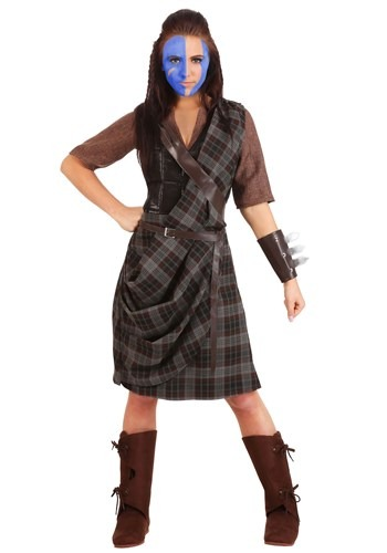 Womens Plus Size Braveheart Warrior Costume