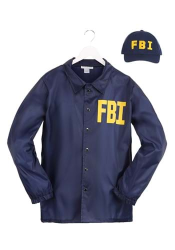 FBI Adult Size Costume Set