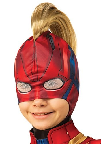 Captain Marvel Girls Mohawk Headpiece