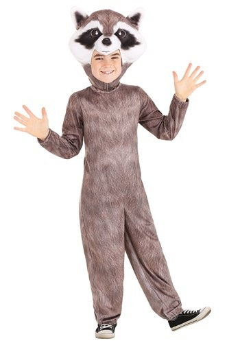 Click Here to buy Realistic Raccoon Kids Costume from HalloweenCostumes, CDN Funds & Shipping